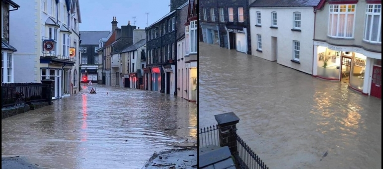 Conwy Flooding