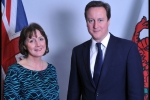 Cllr Janet Finch-Saunders AM meets Prime Minister David Cameron